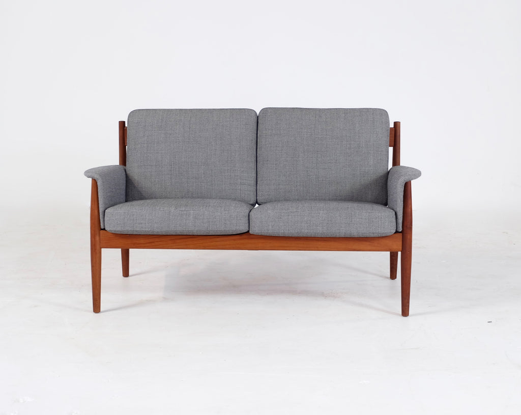 Grete Jalk Two Seater Sofa in New InStyle Fabric (1901157a)