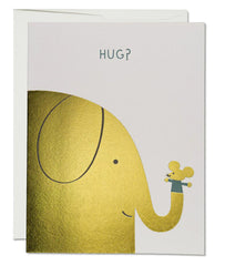 Red Cap Cards Elephant Hugs