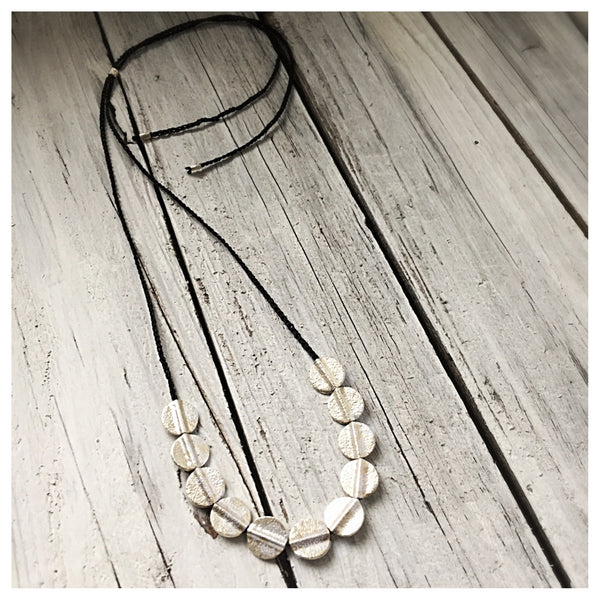 Full Moon Slider Necklace