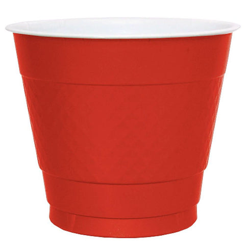 Hanna K. Signature Plastic Cups Red 9oz 50Ct