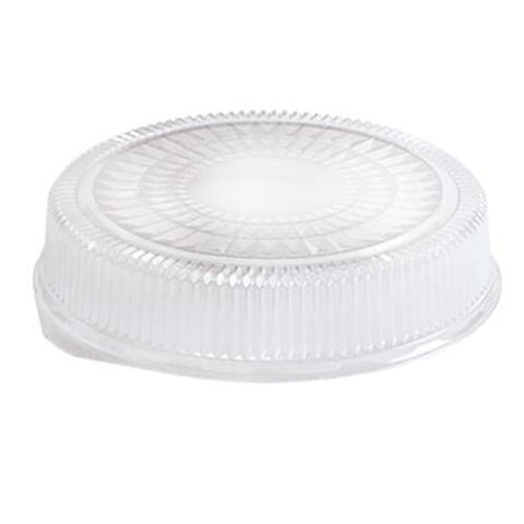 "16"" Clear Plastic Dome Lid 5PK"