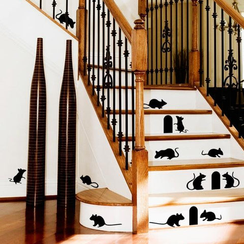Beautiful Rat Wall Sticker Collection