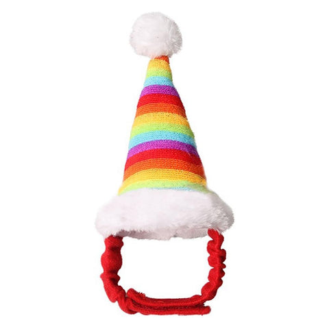 Christmas Rainbow Hat for Rats