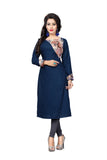 Ladyindia New Year Sale Blue Color Kurtis & Kurtas Long Kurtis For Women