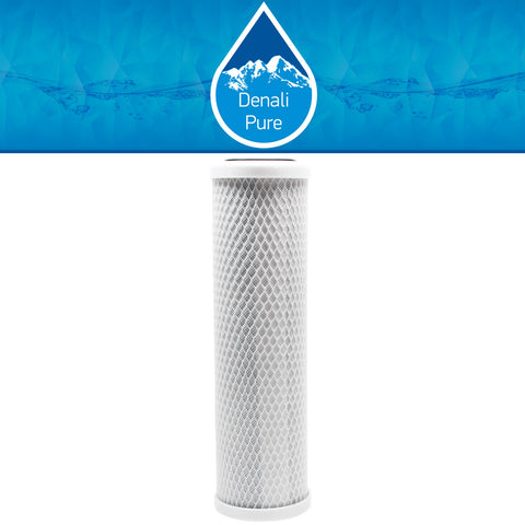 "10"" Universal Activated Carbon Block Water Filter"