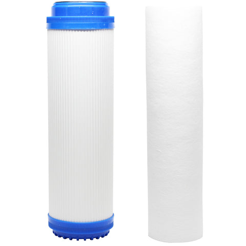 Reverse Osmosis Water Filter Kit - Includes Carbon Block Filter & GAC Filter