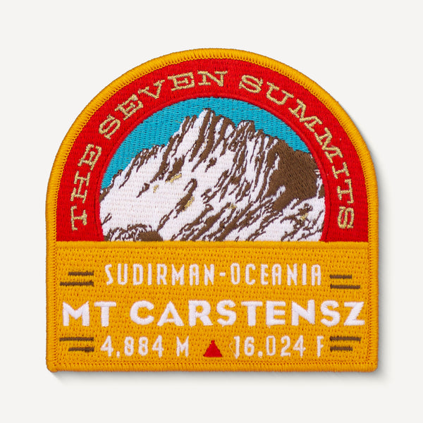 Carstensz Seven Summits Patch