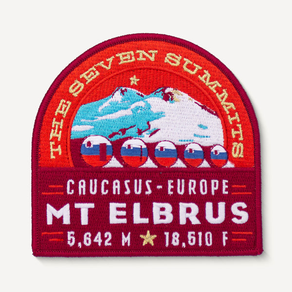 Mt. Elbrus Seven Summits Patch