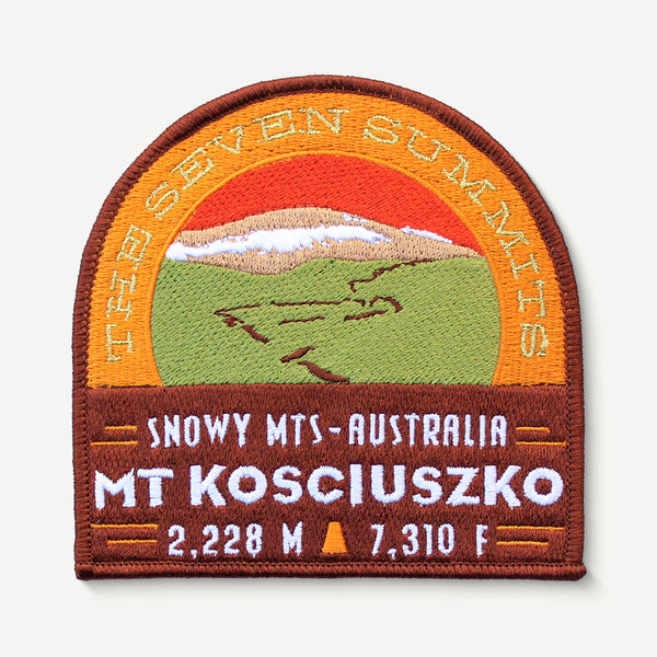 Mt. Kosciuszko Seven Summits Patch