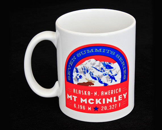 Mt. McKinley Seven Summits Coffee Mug