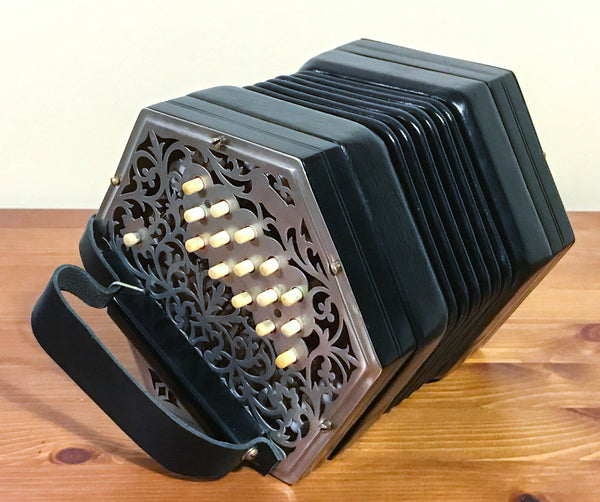 Crabb 30 key Anglo Concertina C/G - TheReedLounge.com