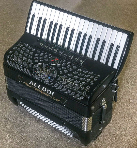 Fantini Allodi Double Cassotto Musette 96 bass piano accordion - TheReedLounge.com