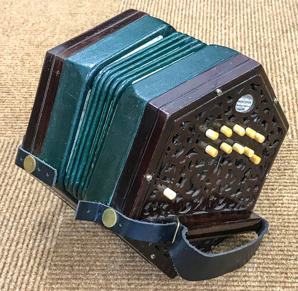 Lachenal 20 key Anglo concertina C/G, badged H J Journet - TheReedLounge.com
