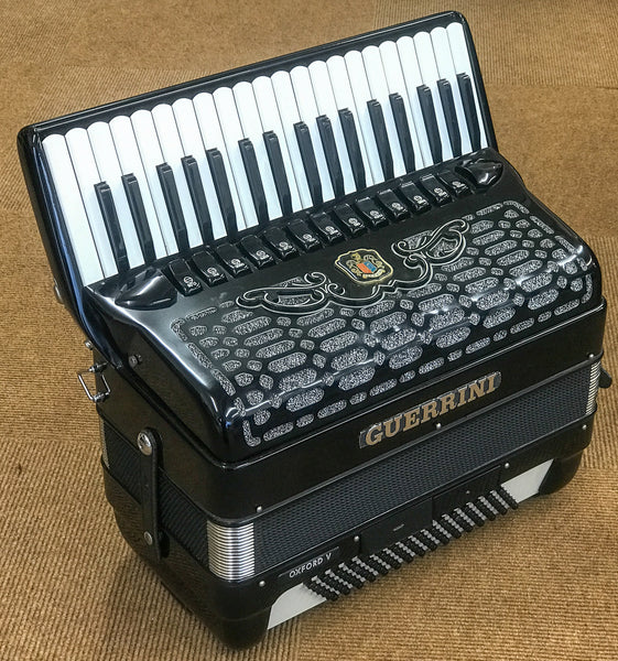 Guerrini Oxford V 96 bass Piano Accordion - TheReedLounge.com
