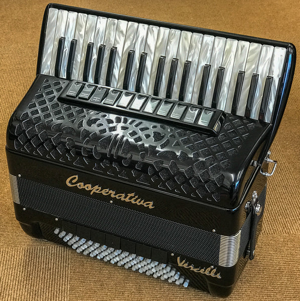 Cooperativa SuperCesare 502 96 bass 4 voice piano accordion - TheReedLounge.com