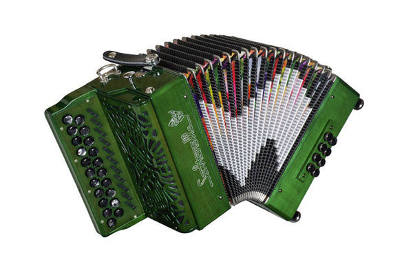 Saltarelle Aether 3 Button Accordion - TheReedLounge.com