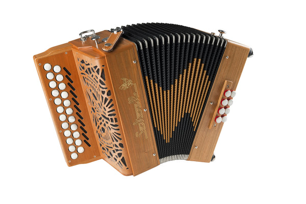 Saltarelle Awen 3 voice Button Accordion - TheReedLounge.com