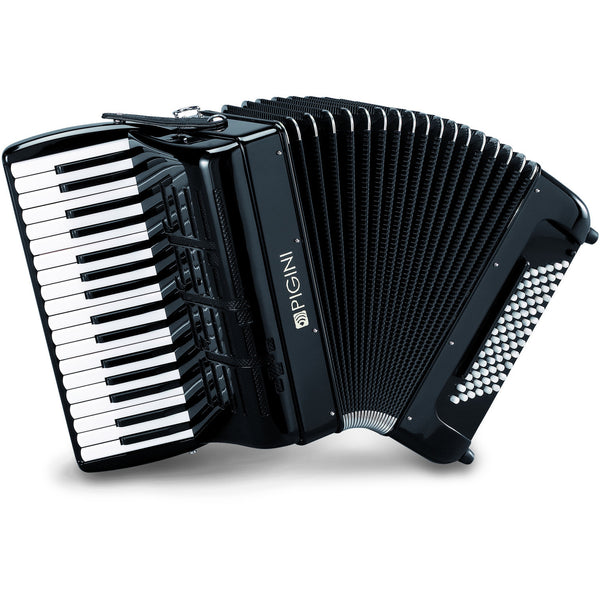 Pigini Peter Pan Compact Freebass Convertor Accordion - TheReedLounge.com
