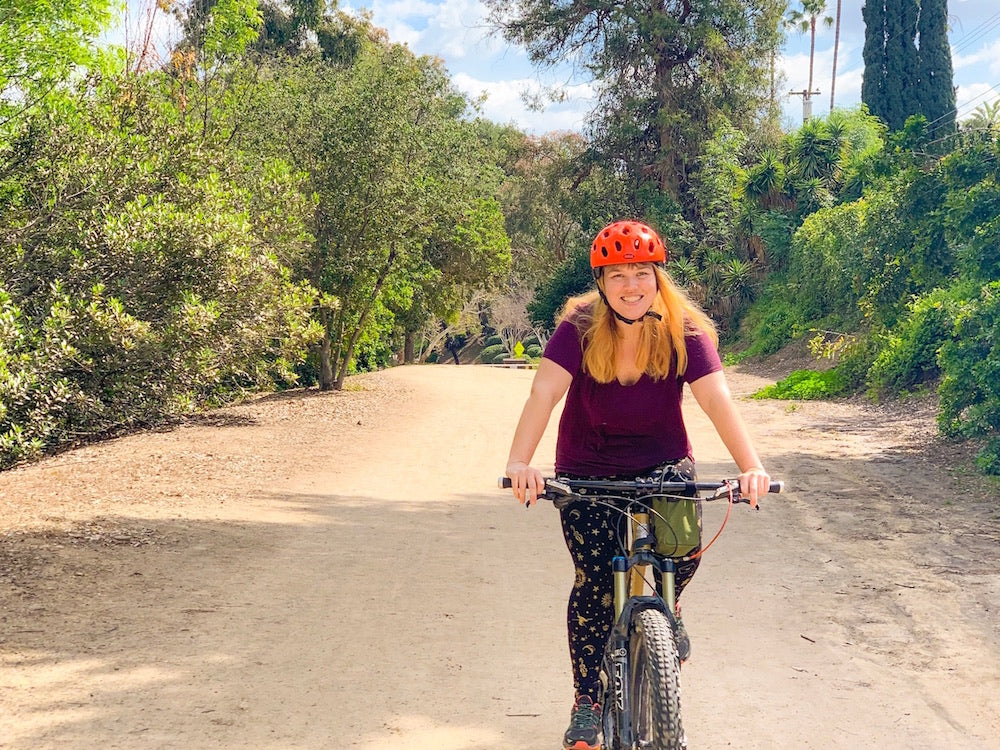 Ashley's First Mountain Bike Ride