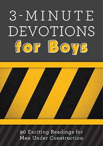 3-Minute Devotion for Boys