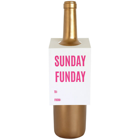 Sunday Funday Wine & Spirit Tag