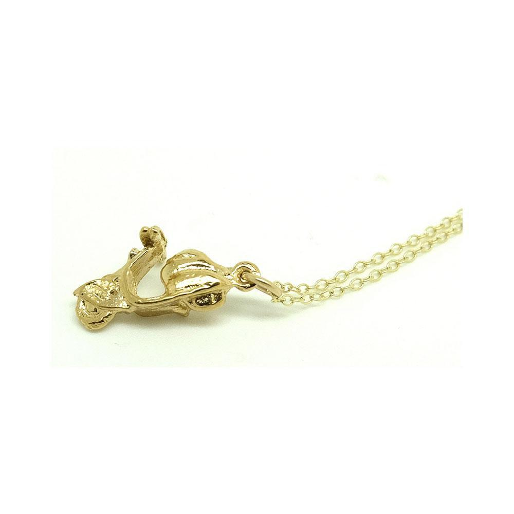 Vintage 1960s Moped Charm Necklace