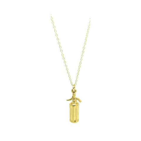 Vintage 9ct Gold Tassel Charm Necklace