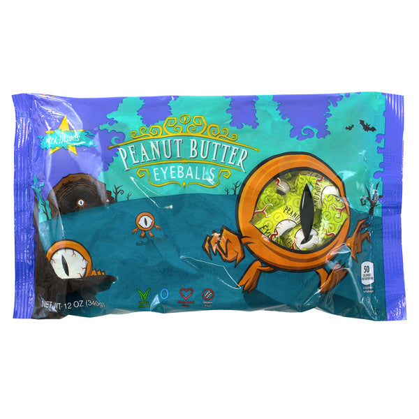 Peanut Butter Eyeballs 12oz. Bag