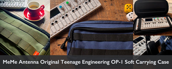 MeMe Antenna Soft Carrying Case for Teenage Engineering OP-1