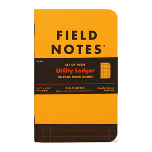 FIELD NOTES - Utility Ledger - MeMe Antenna