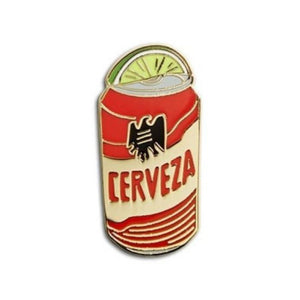 Enamel Pin : The Found - Tecate with Lime Wedge - MeMe Antenna