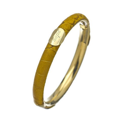 Zen Yellow Hope Bangle