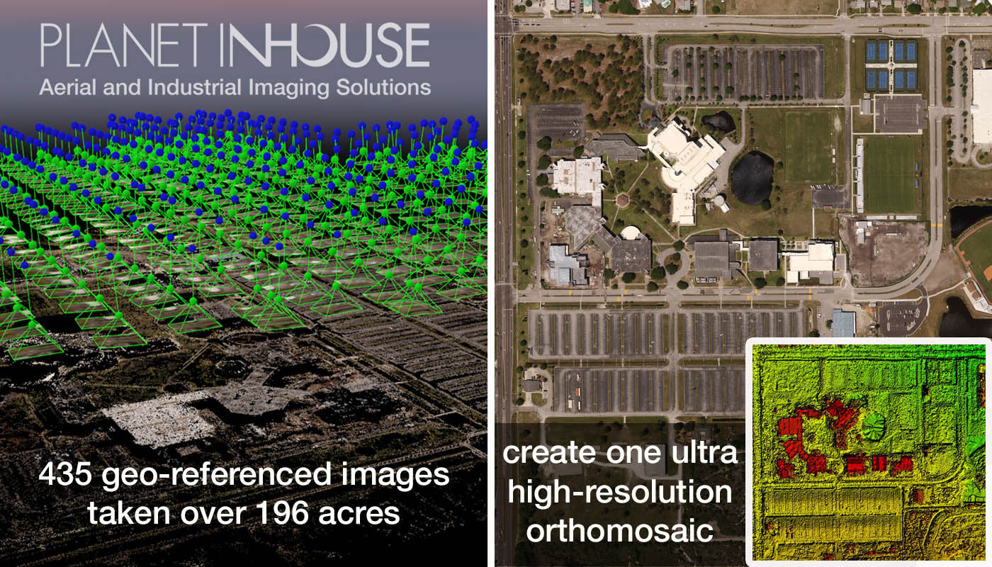 UAS THERMALS™ Supports Planet Inhouse, Inc. in Aerial Survey