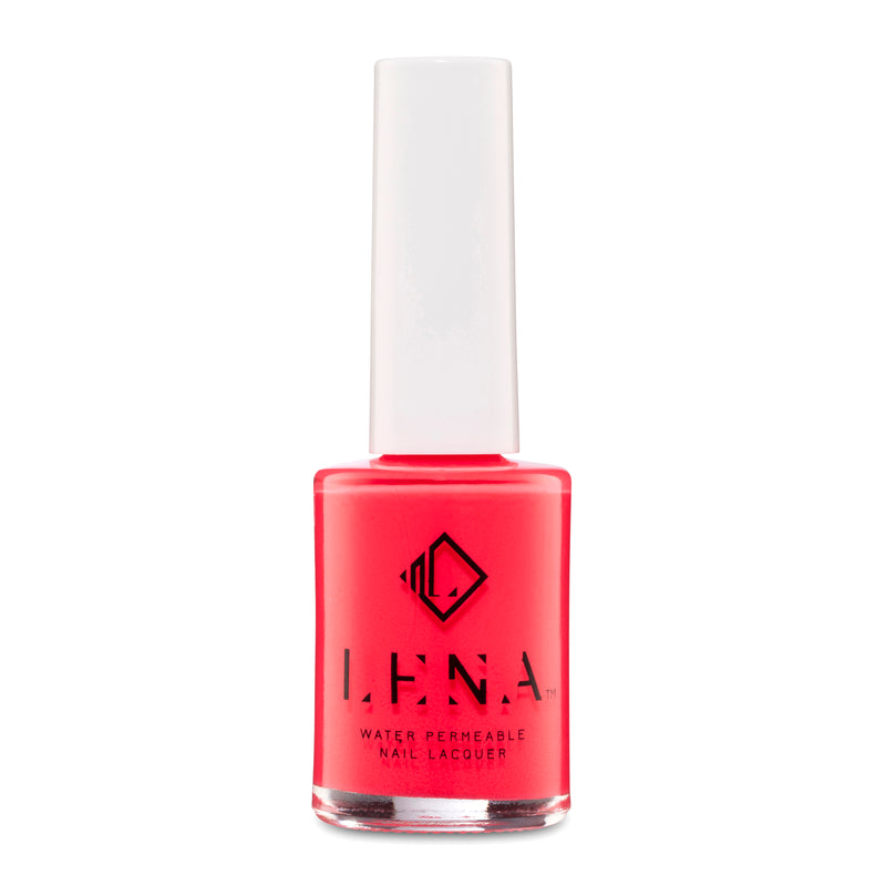 LENA Neon Water Permeable Nail Polish - UAE... You and Me? - LE223
