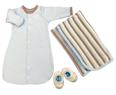 Ecobaby Infant Neutrals Set Long Sleeve