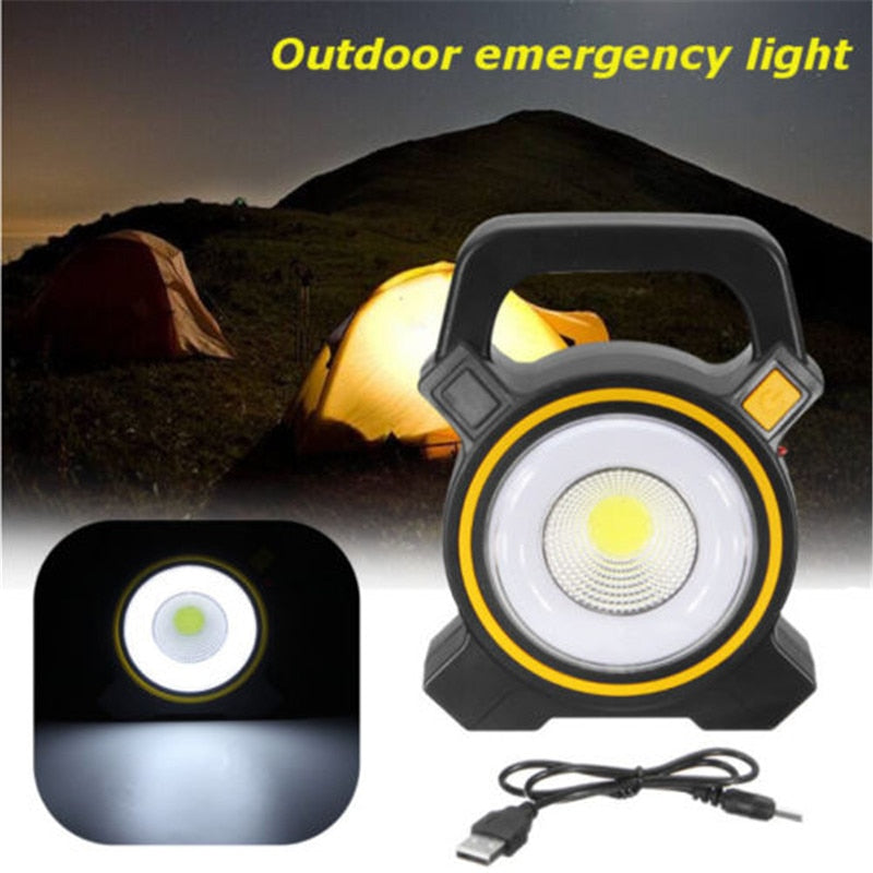 SA Rechargeable 30W COB LED Portable FloodLight