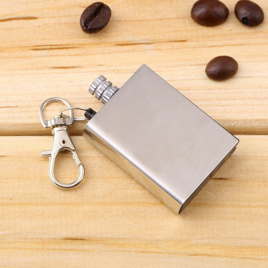 Emergency Fire Starter Flint Match Lighter Metal Outdoor