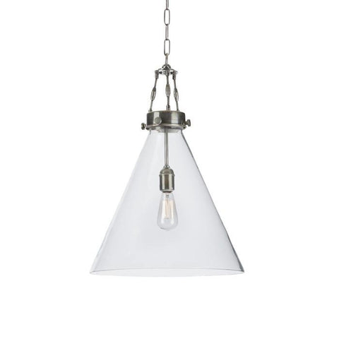 Arles Glass Light Pendant - Rustic Edge