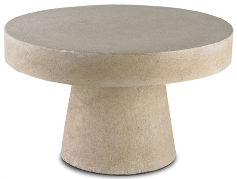 Highboy Round concrete Coffee Table