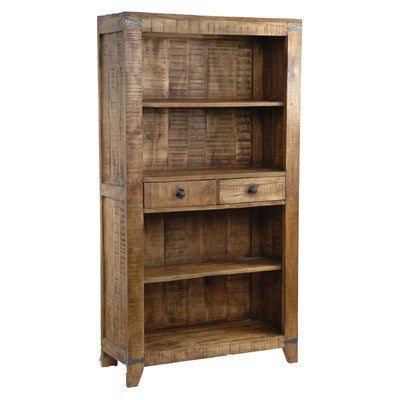Crestview Bengal Manor Mango Wood Bookcase/Bar Cabinet CVFNR301