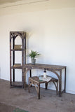 Kalalou Rustic Recycled Iron Coffee/Side Table  NGN1185