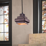 lighting - Autumn Elle Designs Harlow Ceiling Lamp ZO7403 - Rustic Edge - 2