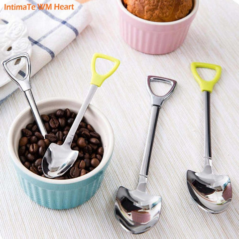 Stainless Steel Mini Shovel Spoons