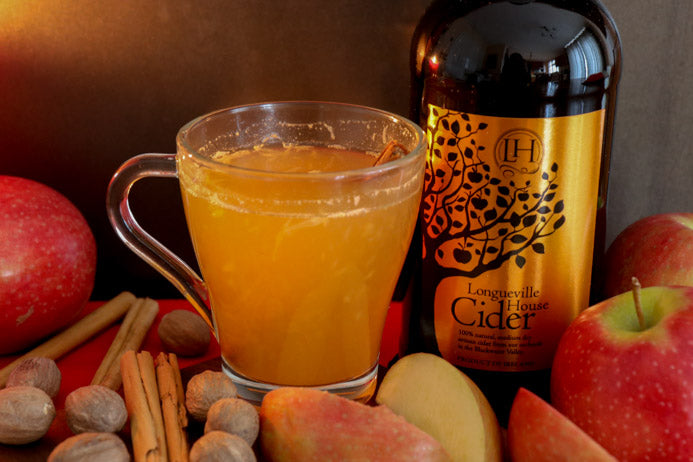 Longueville House Hot apple Cider by Melanie May