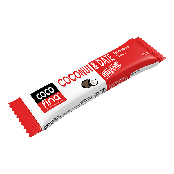 Organic Coconut & Date Snack Bar