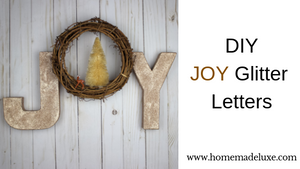 Holiday JOY Letters