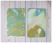 Pour Painting Canvases