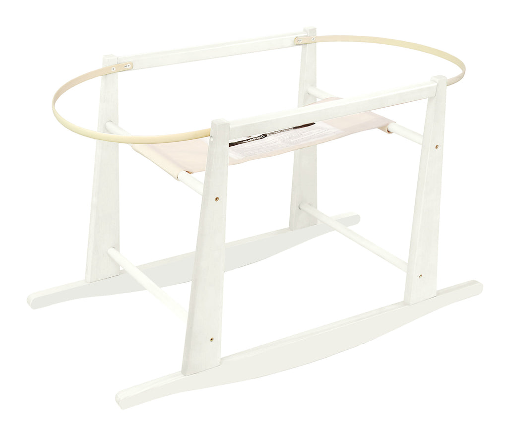 Rocking Basket Stand - White