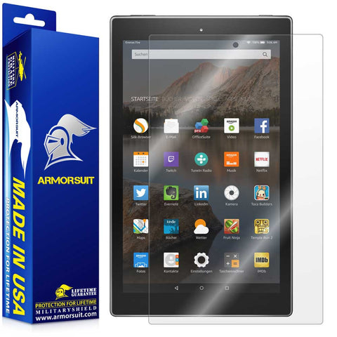 "Amazon Fire HD 10 Clear Screen Protector (10.1"" - 2015 Edition)"
