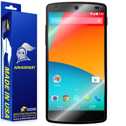 LG Nexus 5 Screen Protector (Case Friendly)